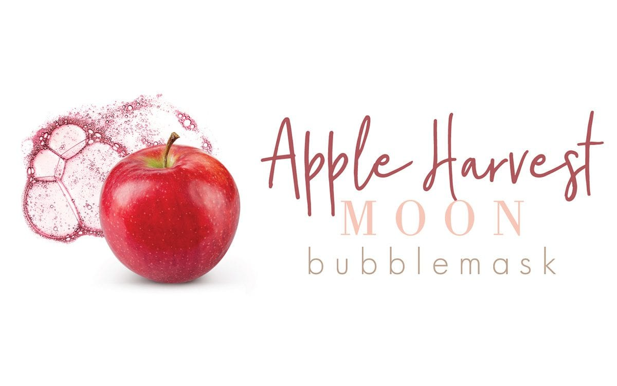 Apple Harvest Moon Bubblemask Logo