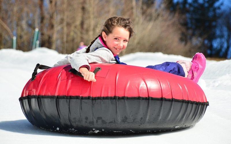 Child Snow Tubing