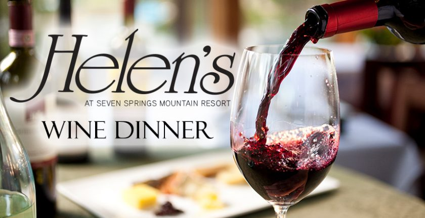 Helen's Wine Dinner