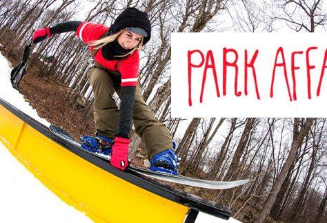 Park Affair Women's Snowboard Clinic