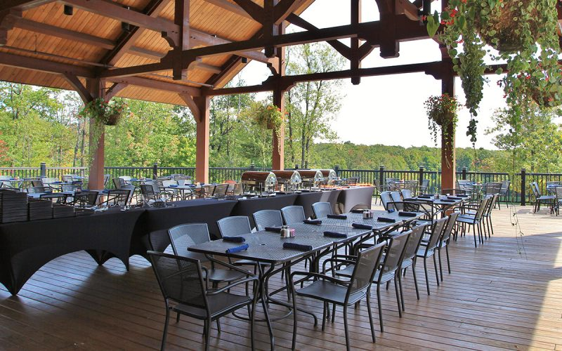 Sporting Clays at Seven Springs Lodge Deck
