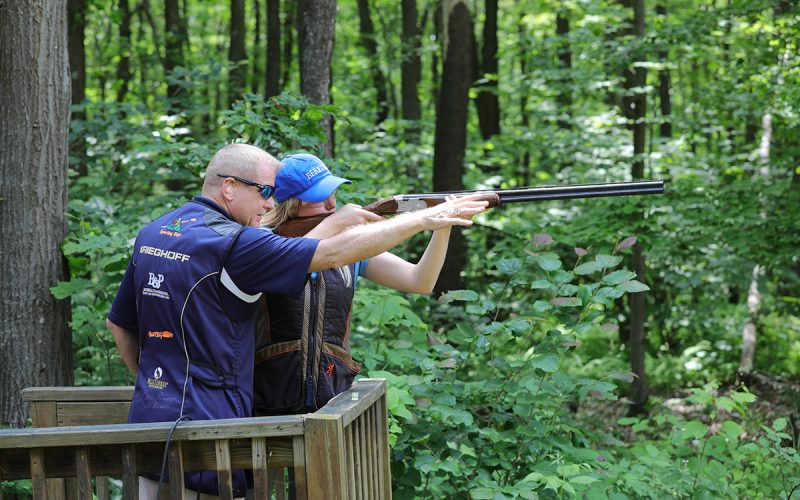 Sporting Clays at Seven Springs Instruction