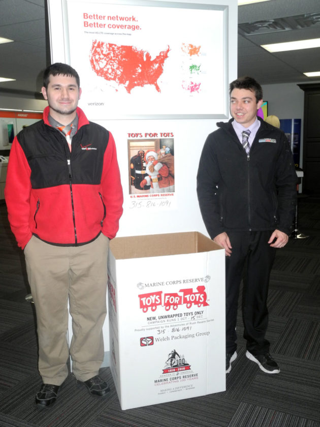 Wireless Zone Teams With Toys For Tots News Sports Jobs