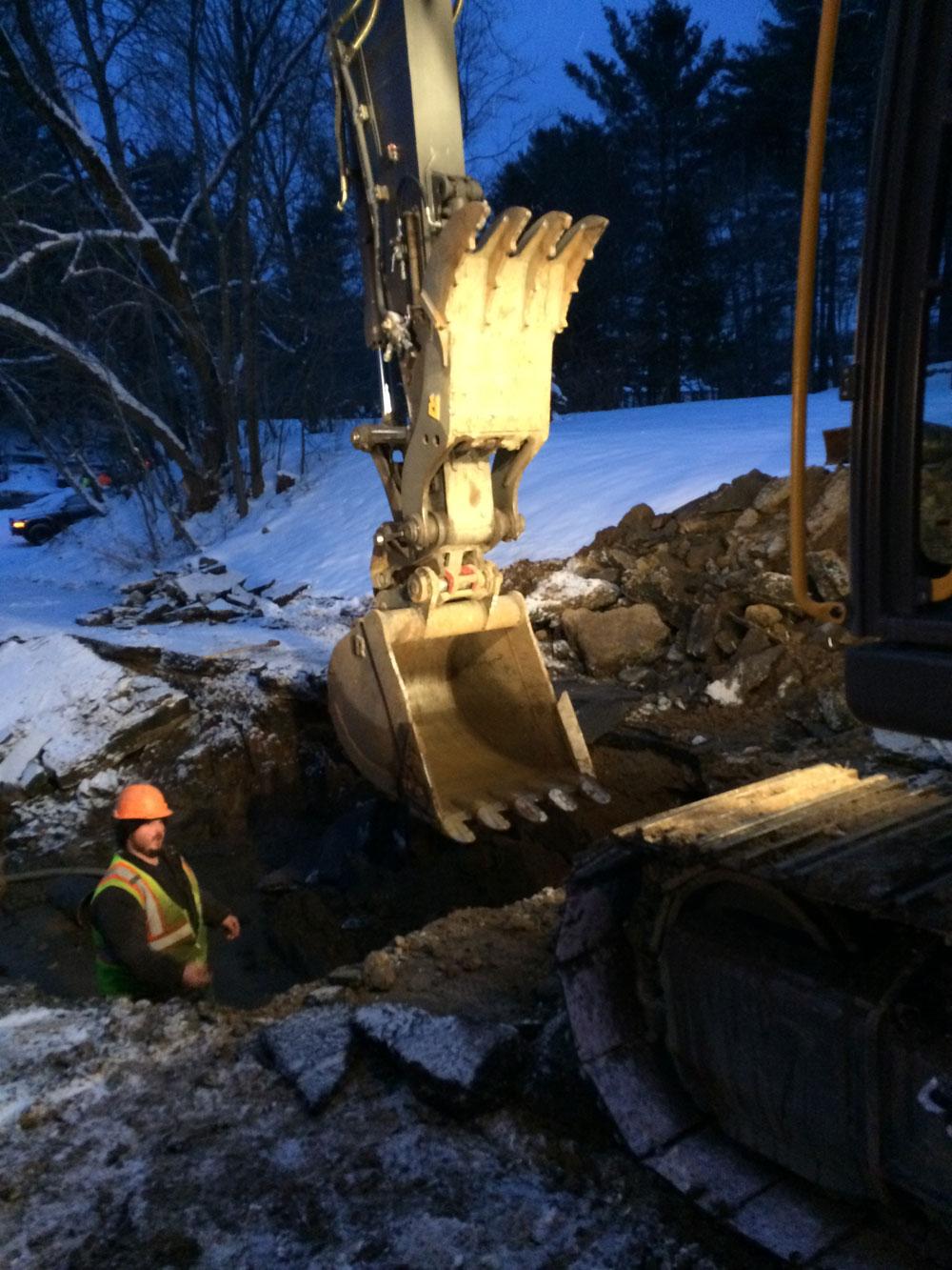 Water Main Break Hits Some Saranac Lake Residents News