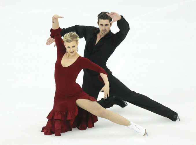 Madison Hubbell and Zach Donohue are slated to perform in tonight's Saturday Night Ice Show at the Olympic Center in Lake Placid. (Photo courtesy of Madison Hubbell and Zach Donohue)
