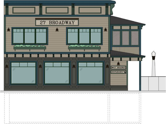 The village of Saranac Lake has endorsed a $500,000 state grant application from Calli Shelton and Randy Coles, who plan to convert the former Dew Drop Inn into a restaurant and bar seen here.  (Image provided)