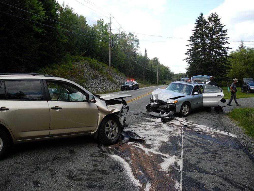 2 hurt in head-on collision | News, Sports, Jobs ...