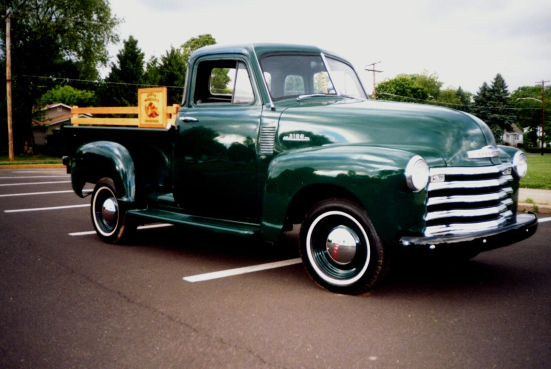 Sensational 53 Chevy Pickup Rescued From Work And Neglect News Machost Co Dining Chair Design Ideas Machostcouk