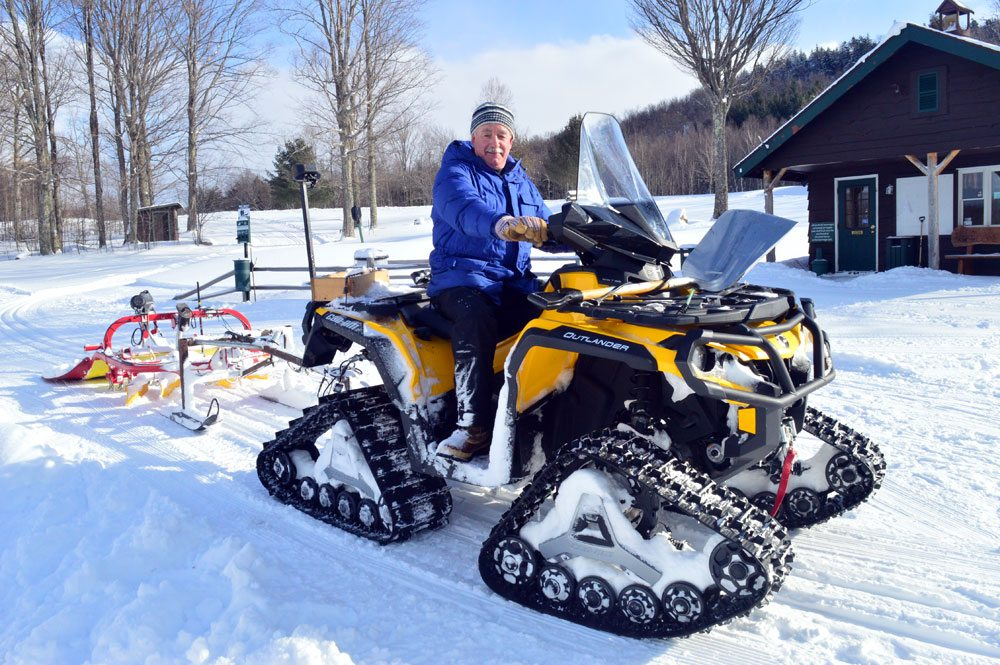 Corsair Ski Trail Conditions and Grooming Report  Cross Country Ski Trail Grooming