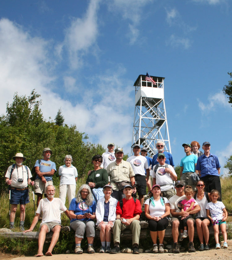 Azure fire tower's 100th celebrated | News, Sports, Jobs
