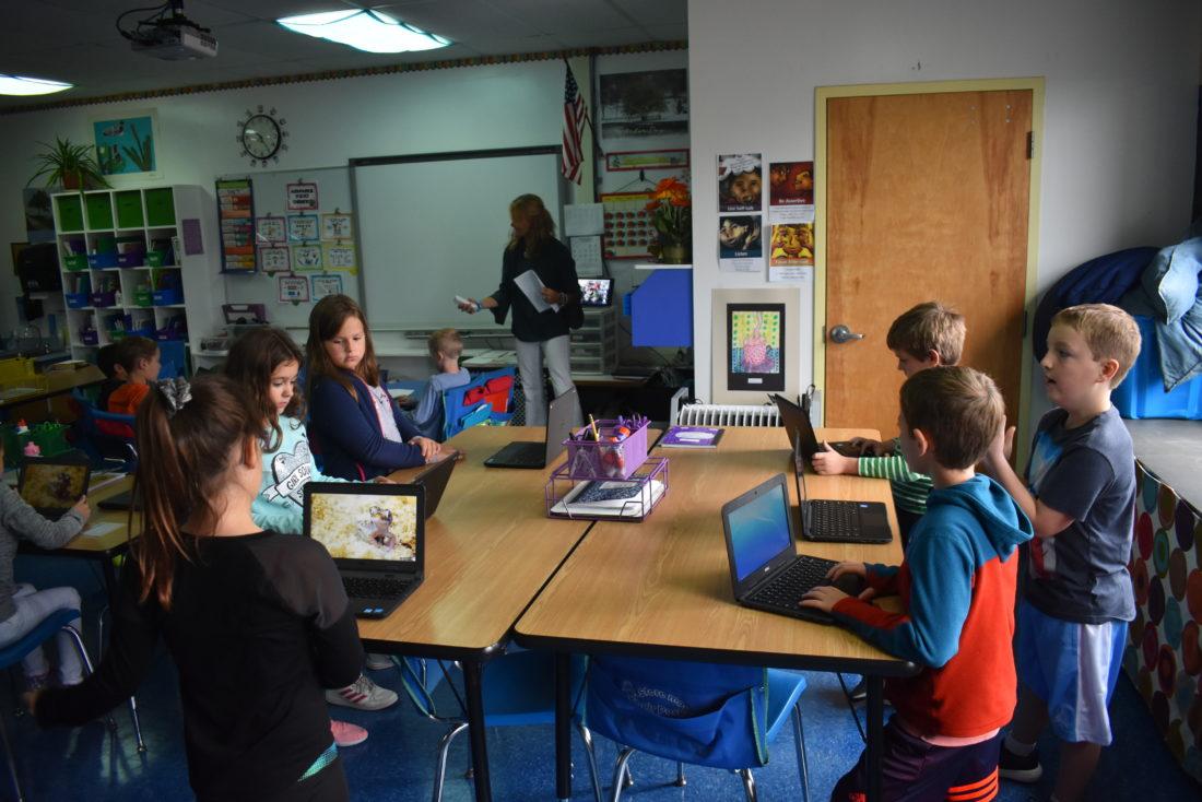 Lake Placid 3rd-graders start using Chromebooks | News