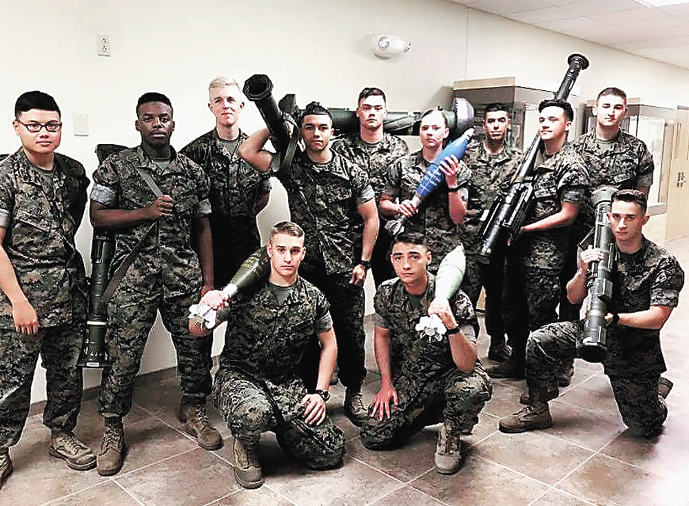 Local Marine stays connected from abroad | News, Sports