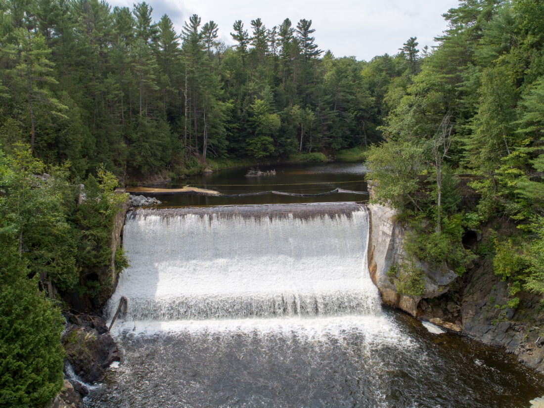 Removal of dam on West Branch of AuSable on pace to be