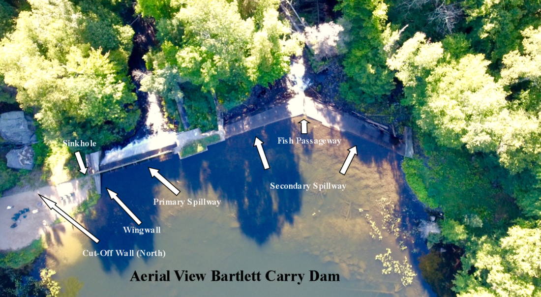 Bartlett Carry Dam undergoing major repairs | News, Sports, Jobs