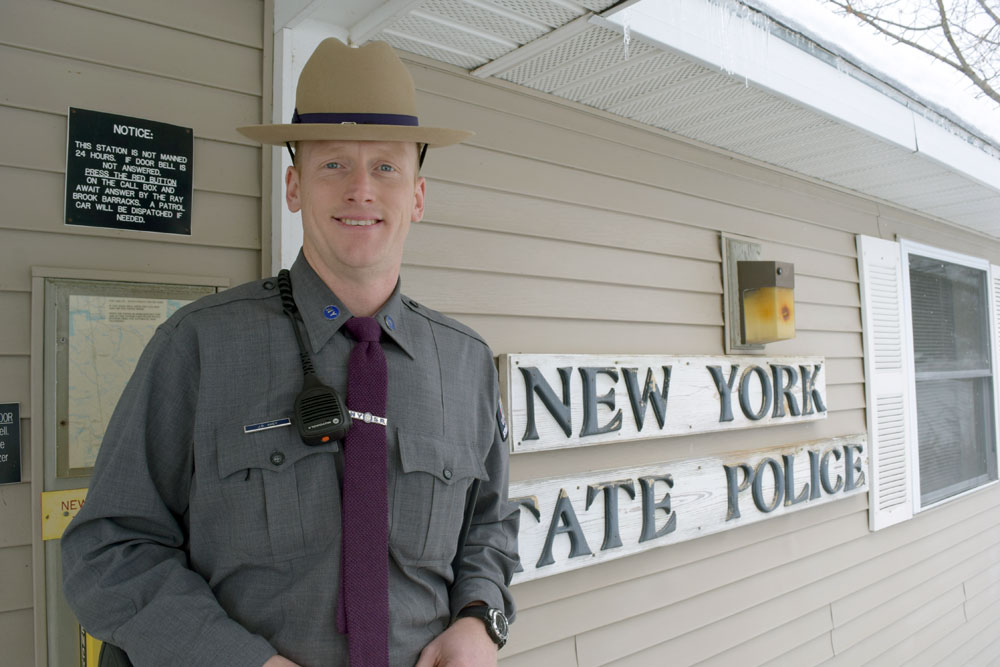 New state trooper is a local | News, Sports, Jobs - Adirondack Daily