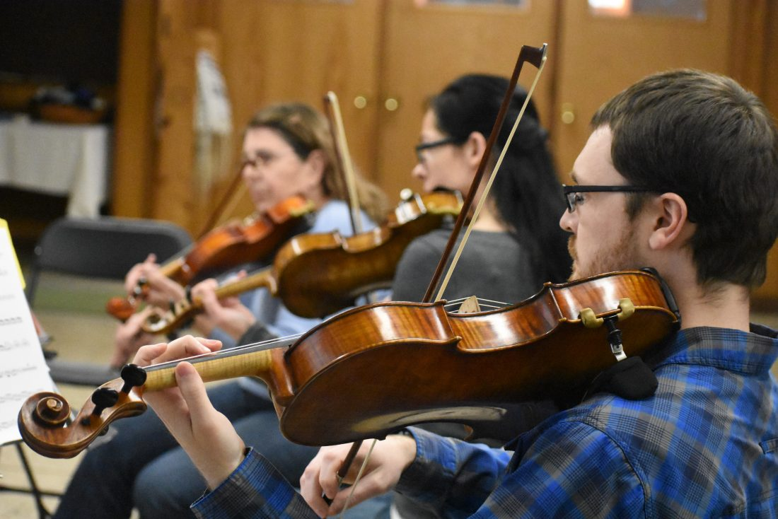 Community String Orchestra plans public sharing for May 30