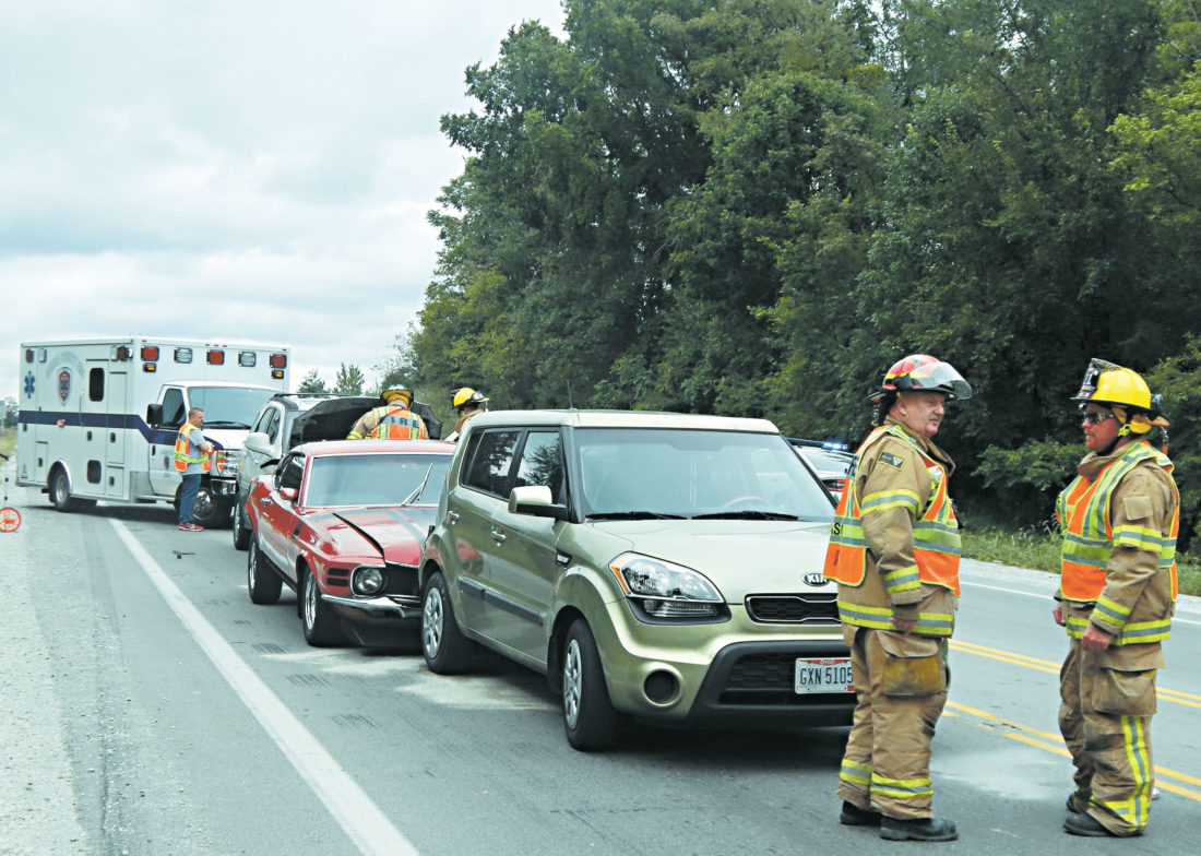 Crews keep busy with accidents in the county | News, Sports, Jobs