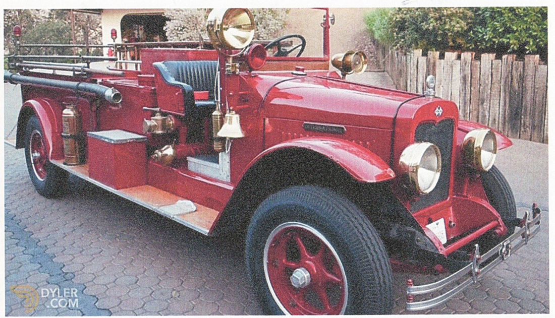 Donations sought for original Bascom fire truck | News