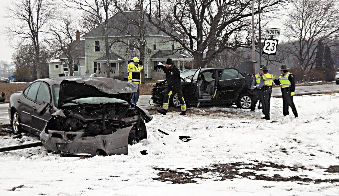 Five injured in Thursday US 23, TR 33 accident | News