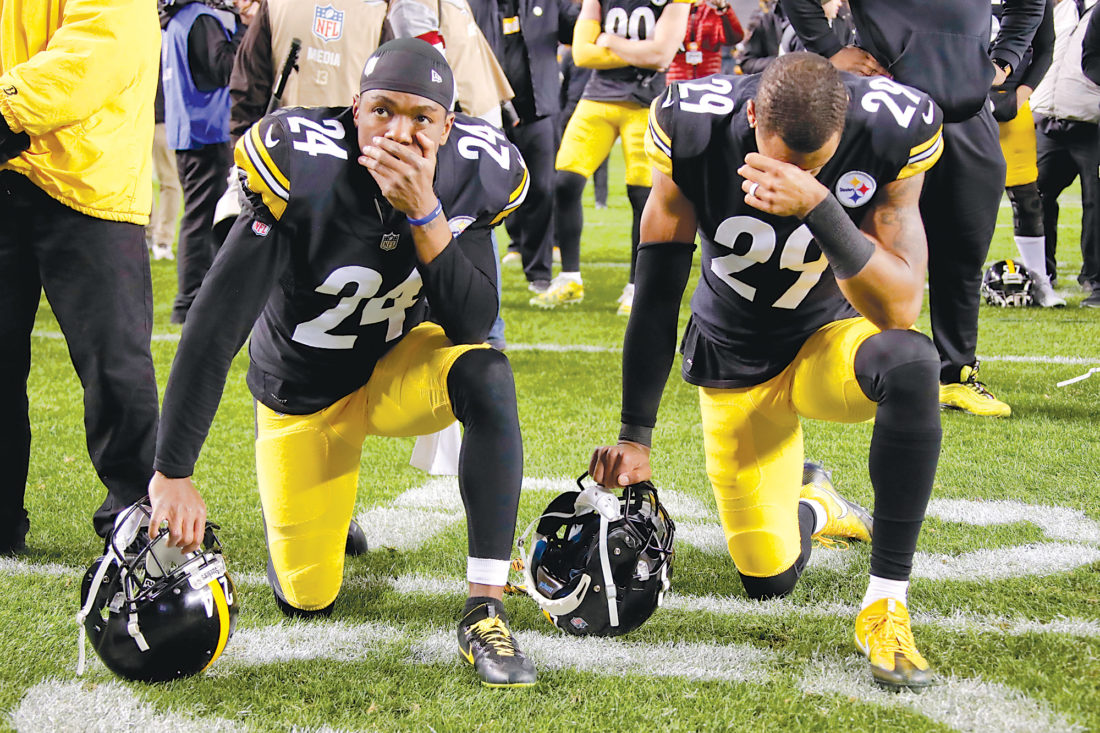 89e015513e5 Helpless feeling: Steelers pull out win, but don't get playoff spot | News,  Sports, Jobs - Altoona Mirror
