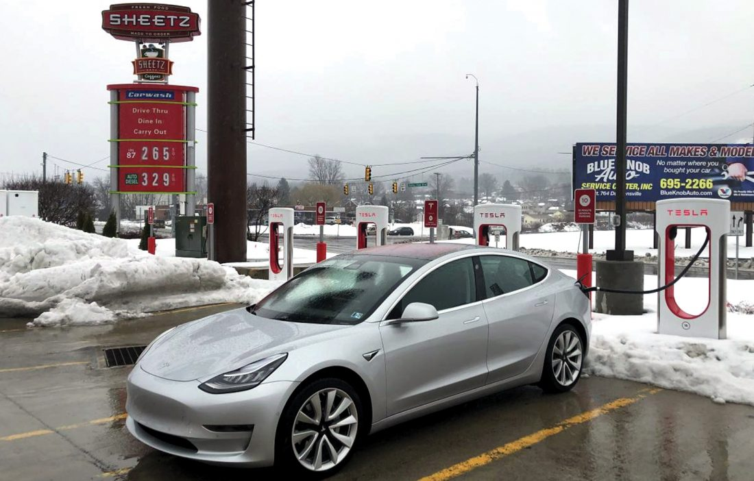 Sheetz installs superchargers | News, Sports, Jobs - Altoona