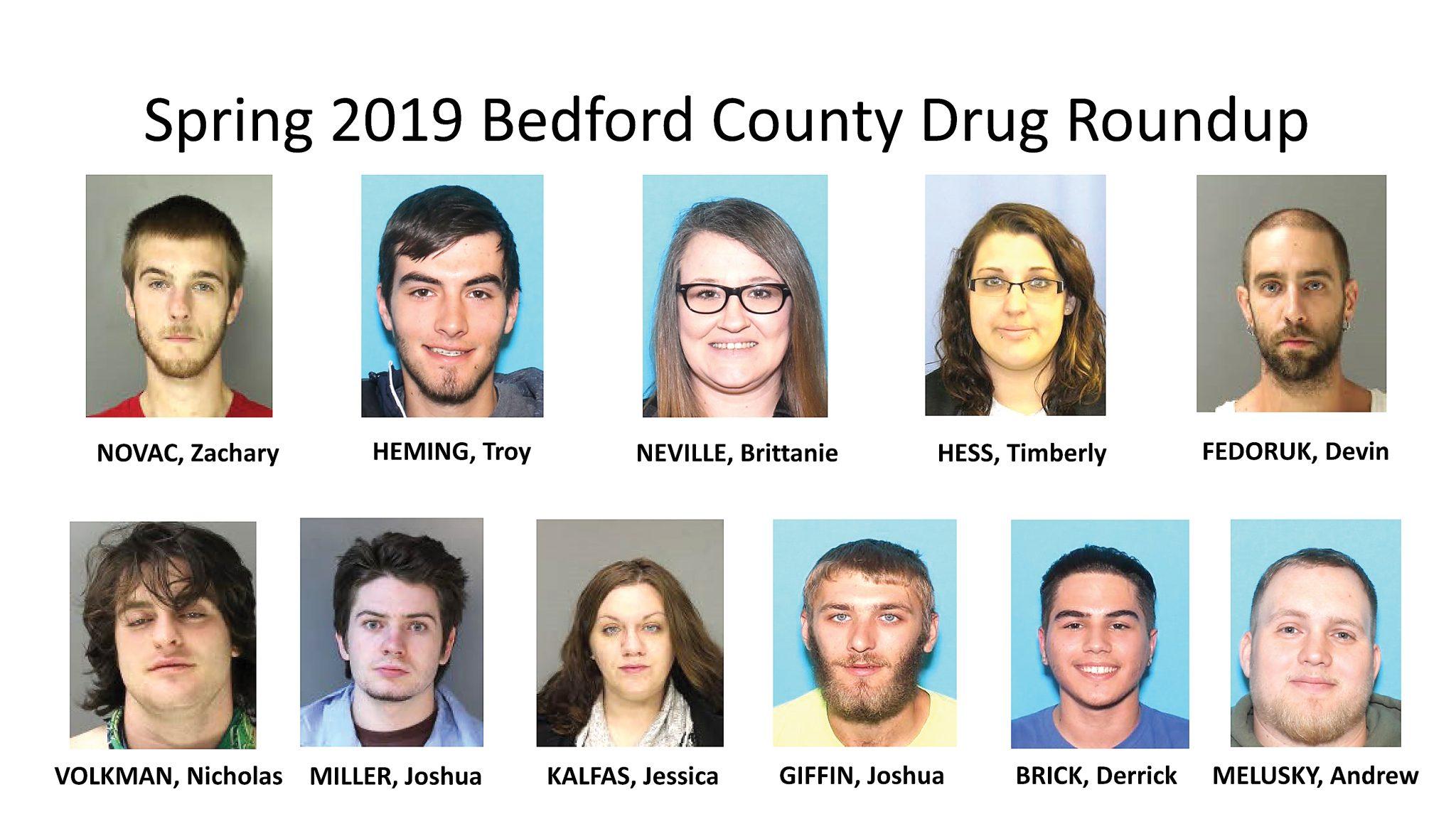 Bedford drug bust nets 22 | News, Sports, Jobs - Altoona Mirror