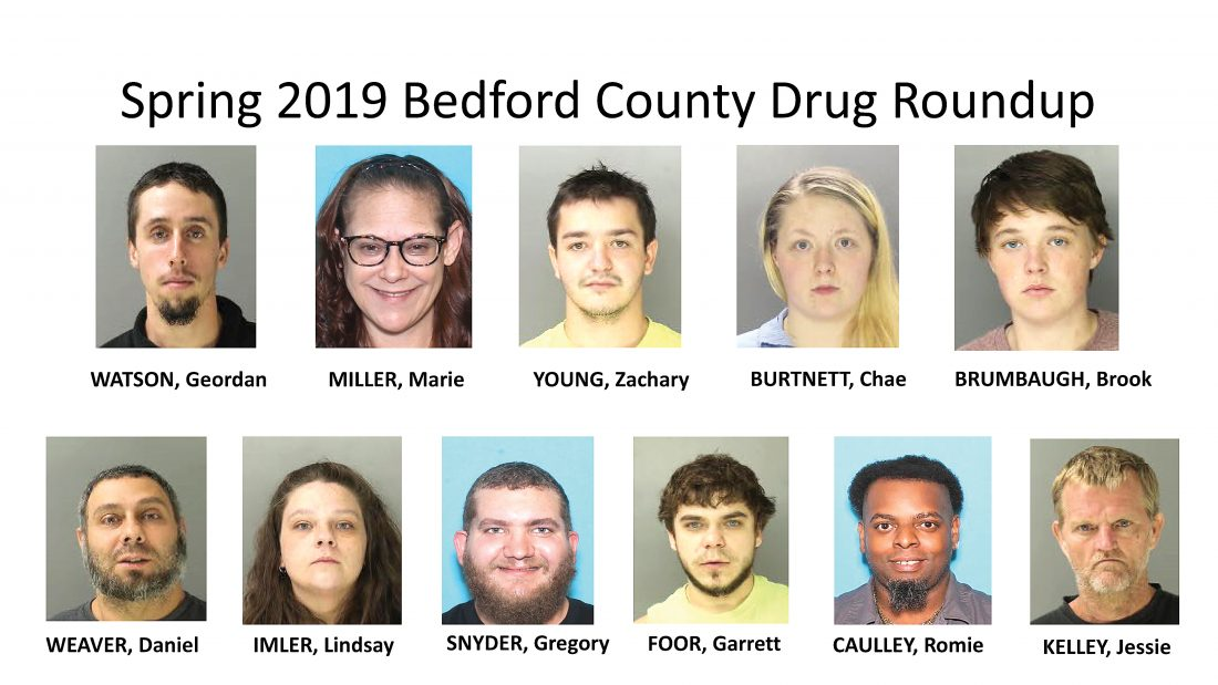 Bedford drug bust nets 22 | News, Sports, Jobs - Altoona Mirror