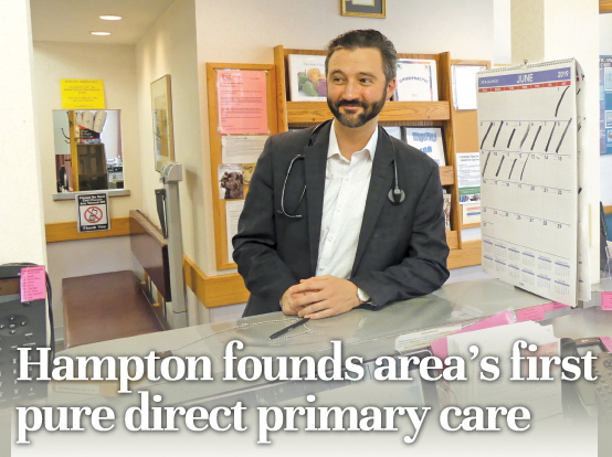 Hampton founds area's first pure direct primary care | News, Sports