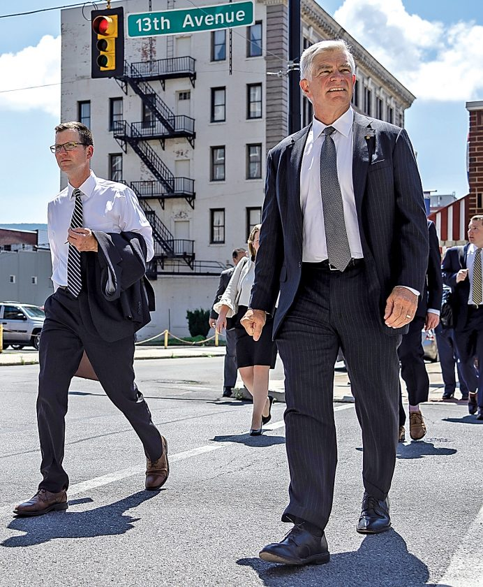 Philly Fed CEO tours city | News, Sports, Jobs - Altoona Mirror