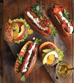 Triple-Steak-Burgers