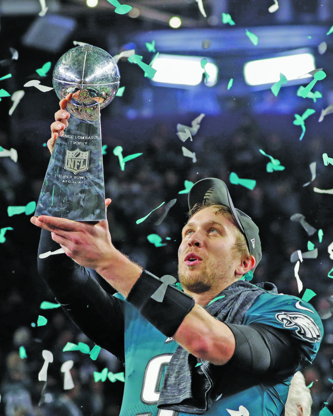Eagles, Foles Upset Patriots