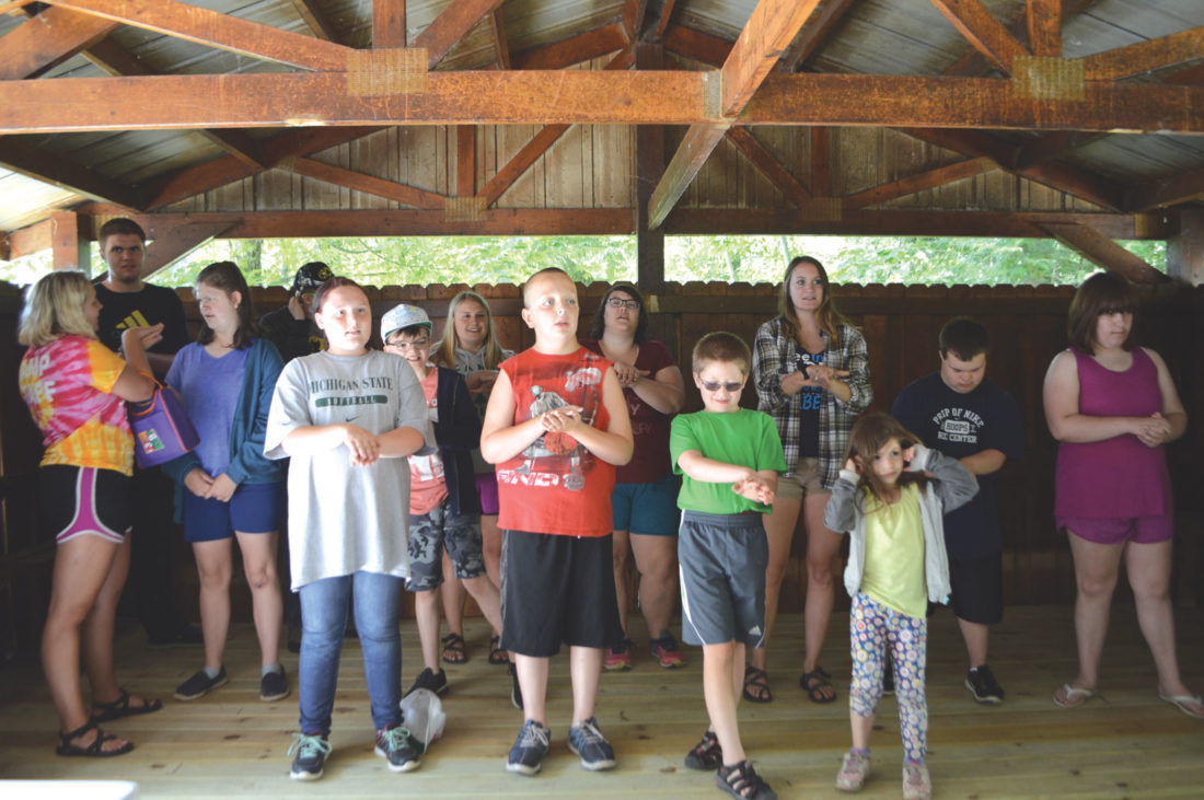 Children With Disabilities Continue To >> Rotary S Camp Harstad Continues To Help Children With Disabilities