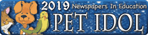 2019 Newspapers in Education Pet Idol contest