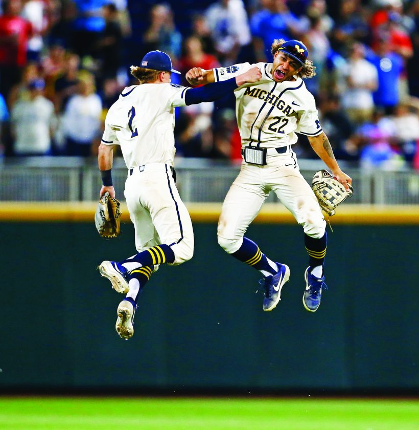 UM takes game 1 of CWS finals | News, Sports, Jobs - Daily Press