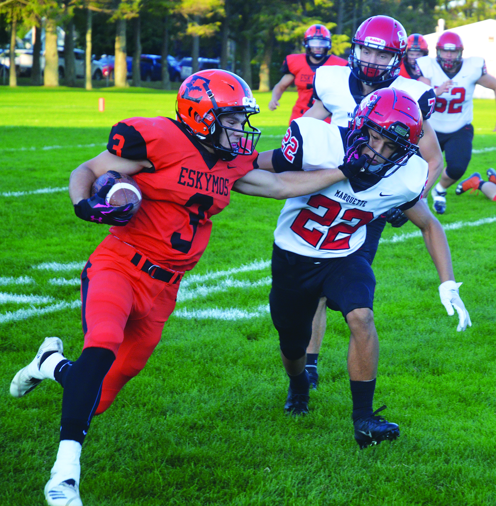 Esky Homecoming Game Suspended