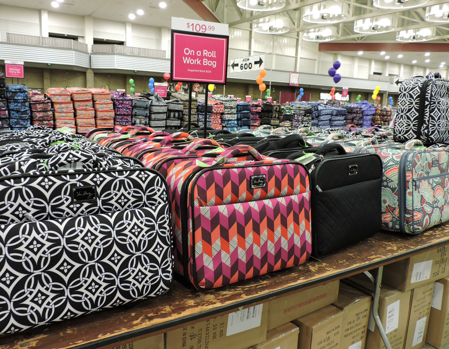 a4e8689411cf Come for the purses. Stay for all the new items. Vera Bradley s Annual  Outlet Sale is offering a plethora of items — some the company has never  offered ...