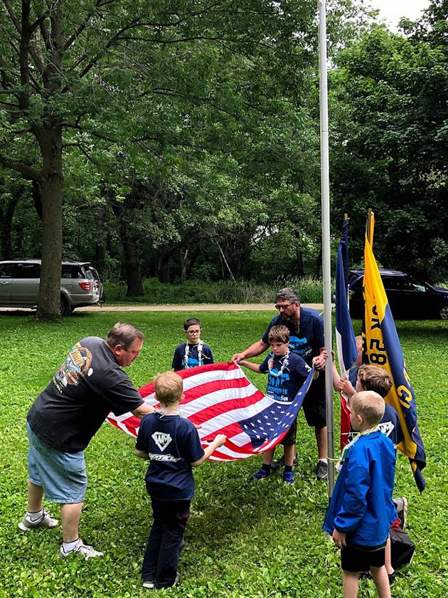 Cub Scouts attend day camp | News, Sports, Jobs - The