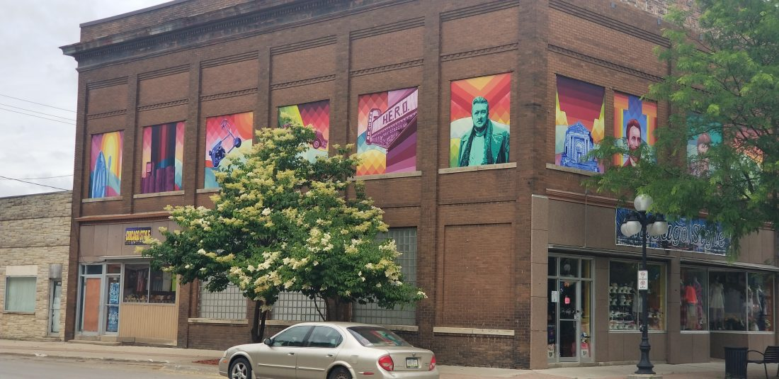 Mural installed downtown   News, Sports, Jobs - The Freeman