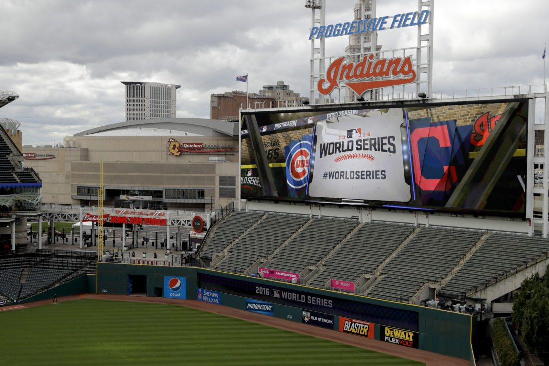 Next year here: Lovable losers Cubs, Indians meet in World