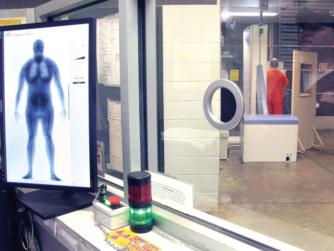 Body scanner arrives at the county jail | News, Sports, Jobs