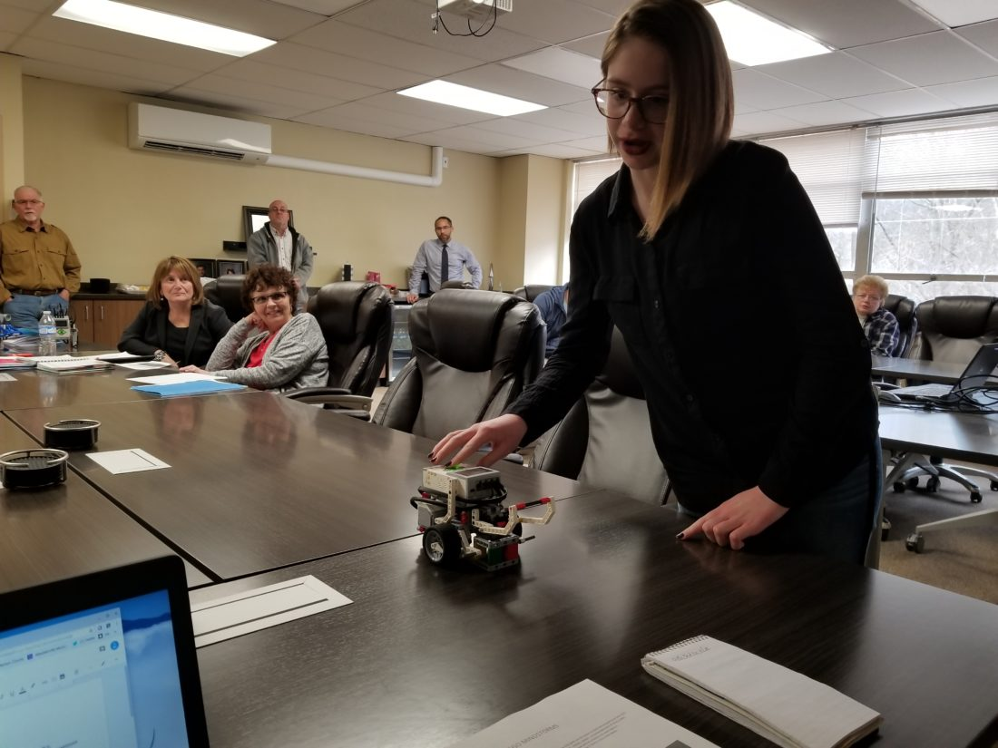 Robotics Coding Pupils Given Chance To Display Their Knowledge