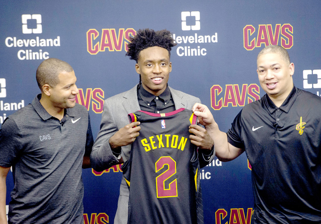 cheaper 2fdea 65887 Take 2: Sexton to wear Irving's jersey number with Cavaliers ...