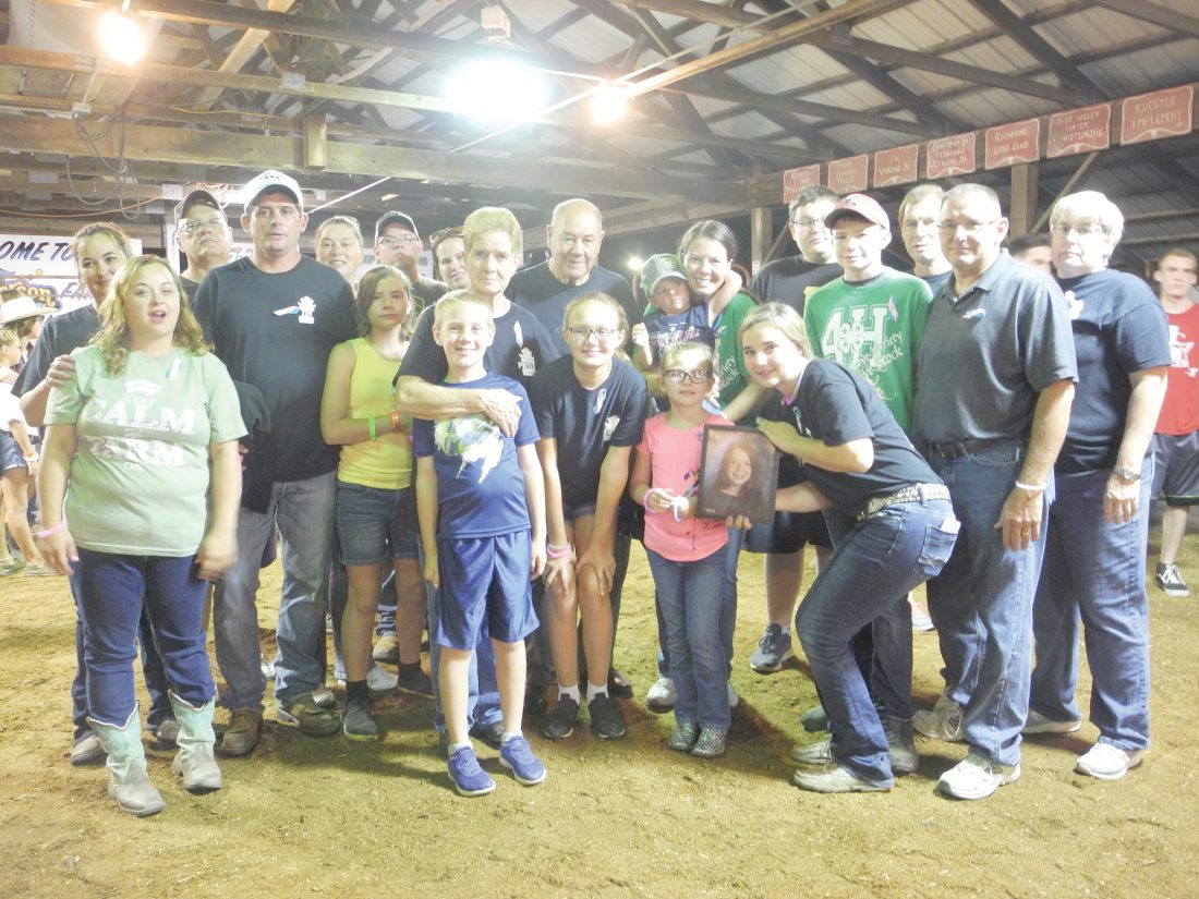 Memorial for 14-year-old Mackenzie Smith held at fair | News