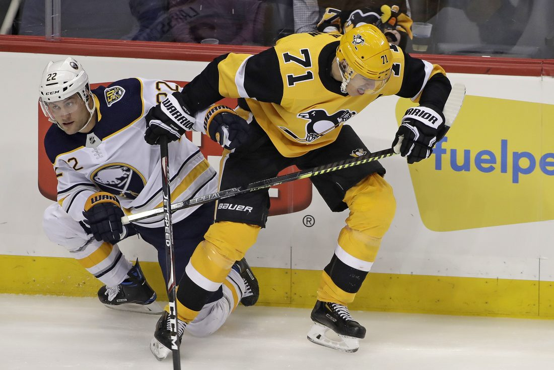 Sabres throttle Penguins early, cruise to rare win in Pittsburgh