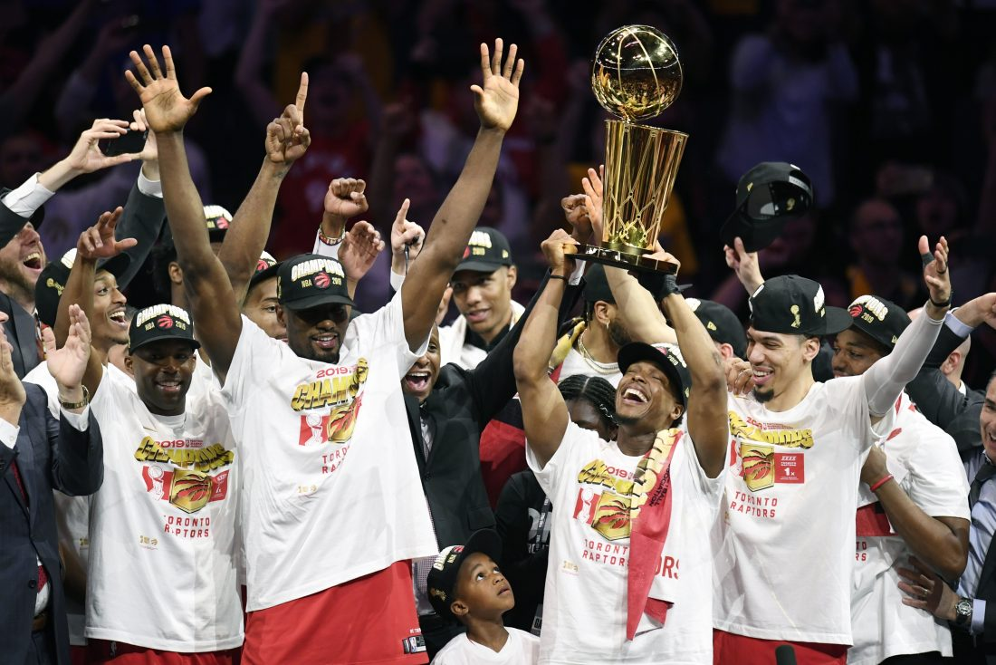 a869eaee472 Raptors top Warriors, earn 1st NBA title | News, Sports, Jobs - The Daily  news