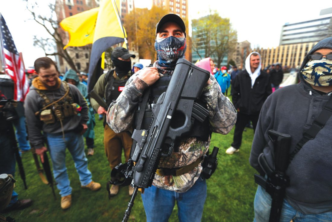 Law enforcement, Whitmer urge peace & responsibility ahead of Thursday's protest in Lansing