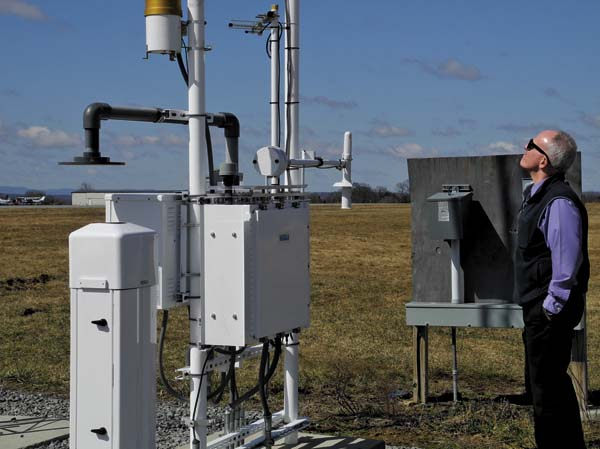 The Silent Watchman Weather Station Keeps Pilots Passengers Safe At Airport