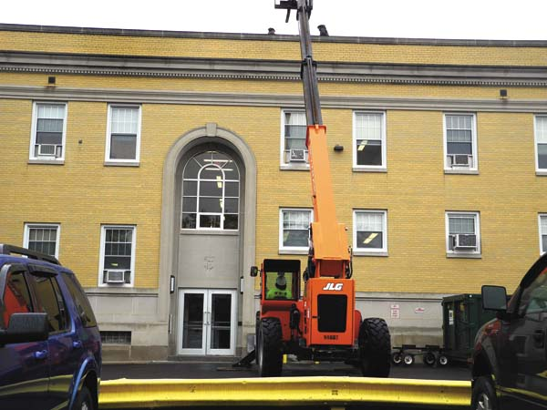 Roof Work On County Building Nears Completion News