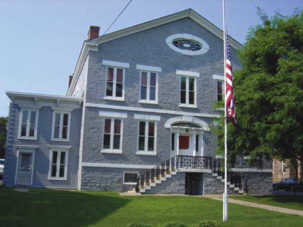 Pictured is rhe 1834 Herkimer County Jail. (Photo submitted)