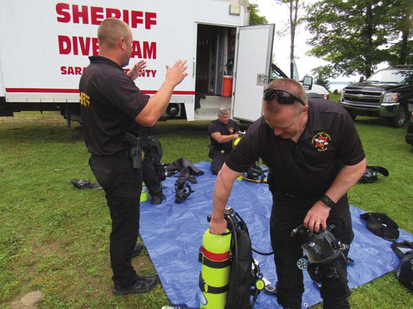 Local police, fire and emergency units participate in crisis
